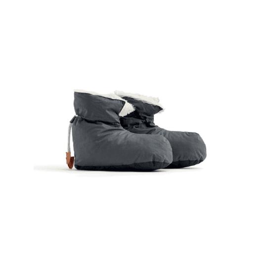 Chaussons bottes gris