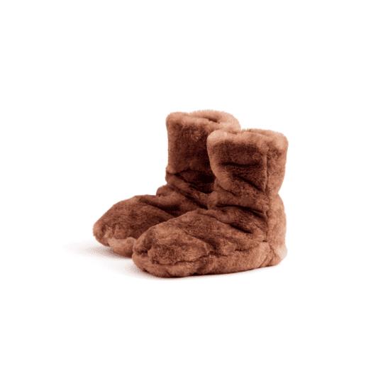 Chaussons bottes bruns
