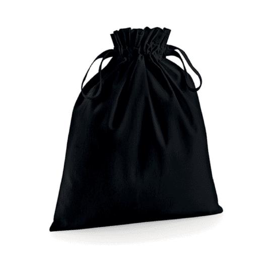 Pochon coton noir