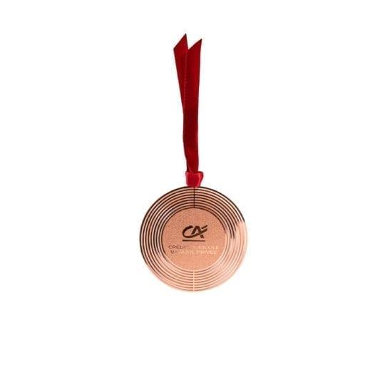 Boules de Noël en métal